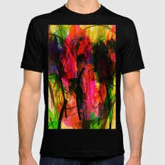Caribbean dreams Mens Fitted Tee Black SMALL