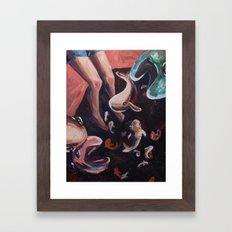 SpaceFish  Framed Art Print