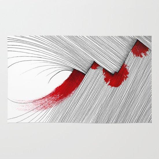 Impact (white version) Area & Throw Rug