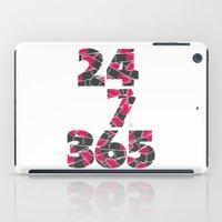 24-7/365 (Lipstick) iPad Case