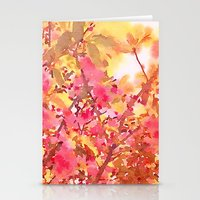Cherry Blossom Canopy Stationery Cards