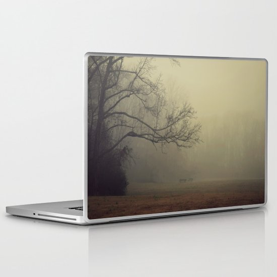 A Gathering of Fog Laptop & iPad Skin