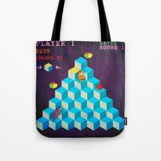 Qbert Unicorn Tote Bag