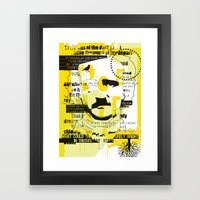 Poe-try 4 Framed Art Print