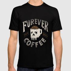 Forever Mens Fitted Tee Black SMALL