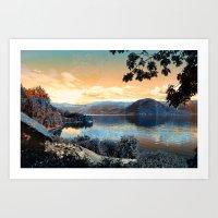 Norwegian Landscape II Art Print