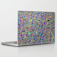Laptop & iPad Skin featuring Multicolor Pattern. by Assiyam