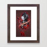Sorry Im Not  Made Of Su… Framed Art Print