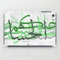 calligraphy iPad Case