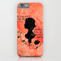 Love is like Death iPhone 6 Slim Case