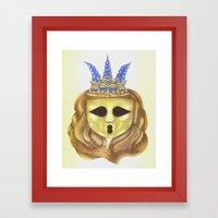 The Diadem Ghostess.  Framed Art Print