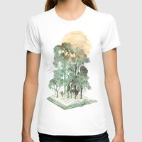 book T-shirts featuring Jungle Book by David Fleck