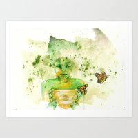 Money Pot Art Print
