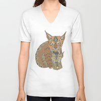 Wild Cats Love Unisex V-Neck