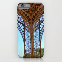 eiffel iPhone & iPod Cases featuring Eiffel by Camille Renee