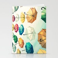 Umbrellas - For Iphone Stationery Cards