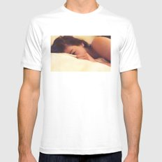 Nicole Mens Fitted Tee White SMALL