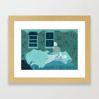 Sleepwalk Framed Art Print