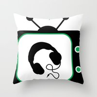 The Latest Artists Throw Pillow