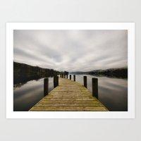 Coniston Water Art Print