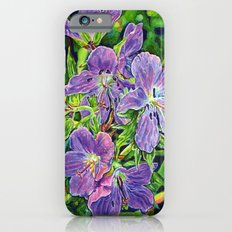Six Wild Geraniums iPhone 6 Slim Case