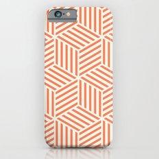 Geometric Coral Slim Case iPhone 6s