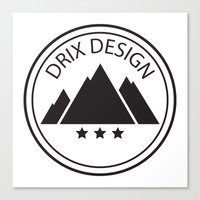 Drix Design Canvas Print