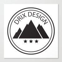 Drix Design Canvas Print