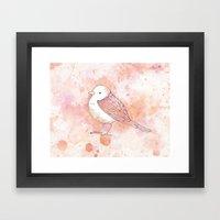 Pink Tweetie Bird Framed Art Print