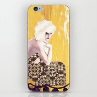Victorian Yellow iPhone & iPod Skin