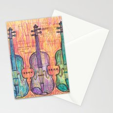 Violin, music to my ears Stationery Cards