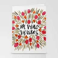 In Wine, There Is Truth … Stationery Cards