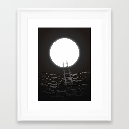 There Is No Other Place To Go Framed Art Print