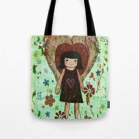 Broken Girl Tote Bag