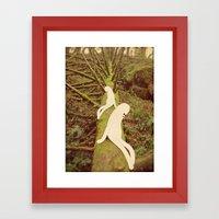 U O M I Framed Art Print