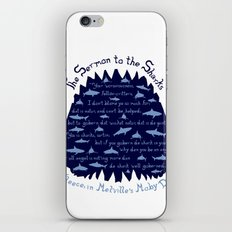 The Sermon to the Sharks iPhone & iPod Skin