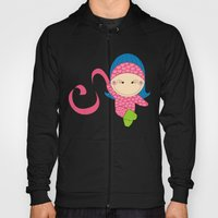 Ballerina -- Fun, sweet, unique, creative and very colorful, original,digital children illustration Hoody