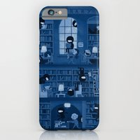 iPhone Cases featuring Silence in the Library by Anna-Maria Jung