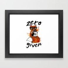 The F word Framed Art Print