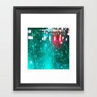 Red Lights Turn Green Framed Art Print