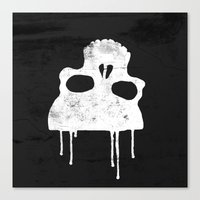 GRUNGE BACKGROUND WITH … Canvas Print