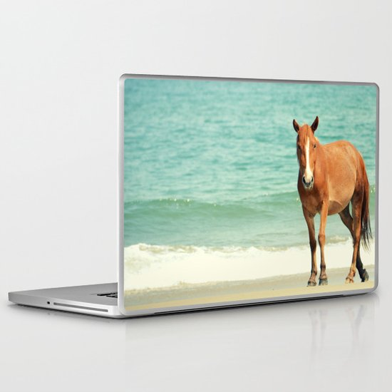Wild Mustang of Carova, NC Laptop & iPad Skin