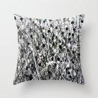 Little Black Throw Pillow