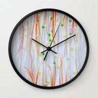 At Play Wall Clock