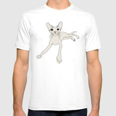 Fiona Mens Fitted Tee SMALL White