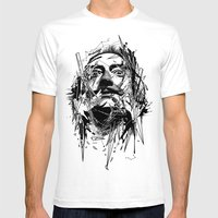 Dali Mens Fitted Tee White SMALL