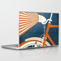 bicycle Laptop & iPad Skins featuring Bicycle Light by Fernando Vieira