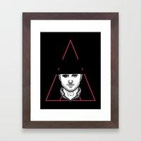A Clockwork Pinkman Framed Art Print