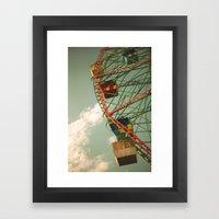Dull Times Framed Art Print