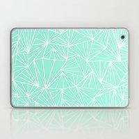 Ab Fan Mint Laptop & iPad Skin
